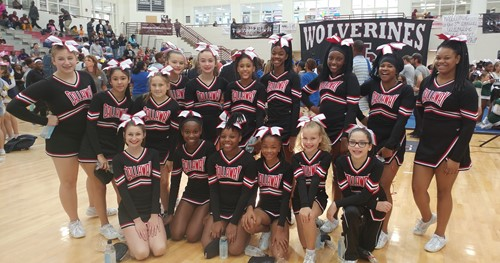 CMS Competition Cheerleaders.