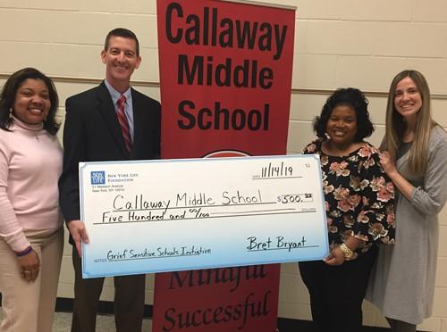 Callaway Middle School Designated a \