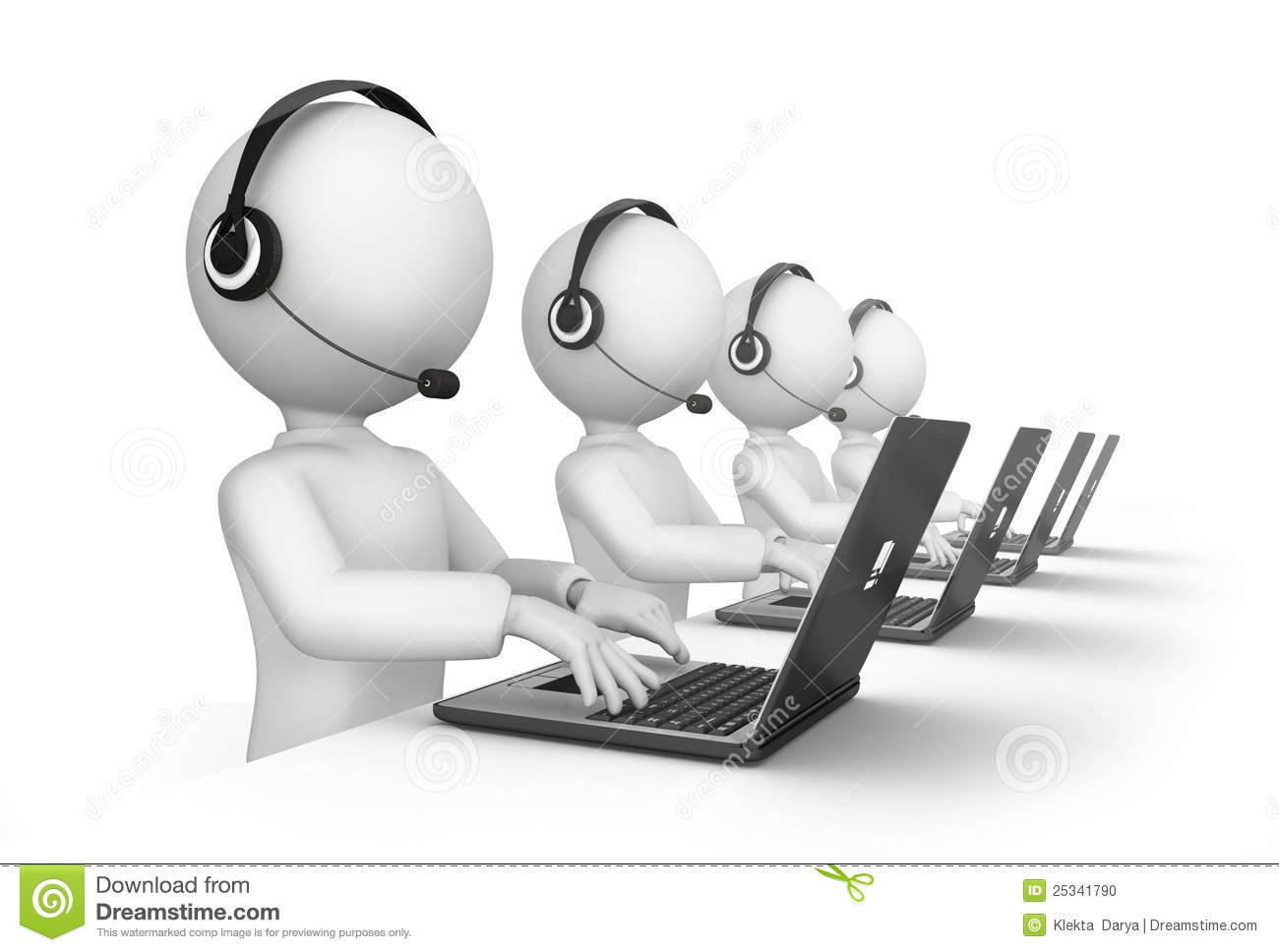 Clipart call center.