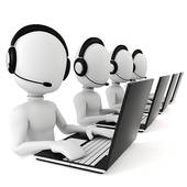 Call Center Agent Clipart.