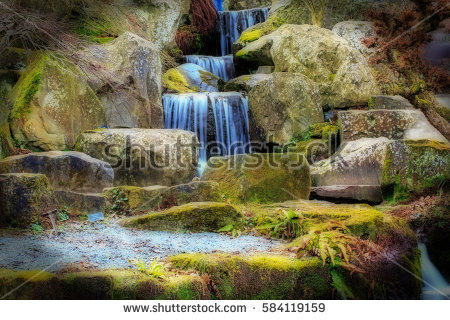 Waterfall Effect Stock Photos, Royalty.