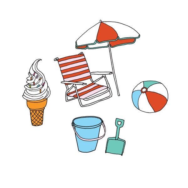 1000+ images about Beach illustrations on Pinterest.
