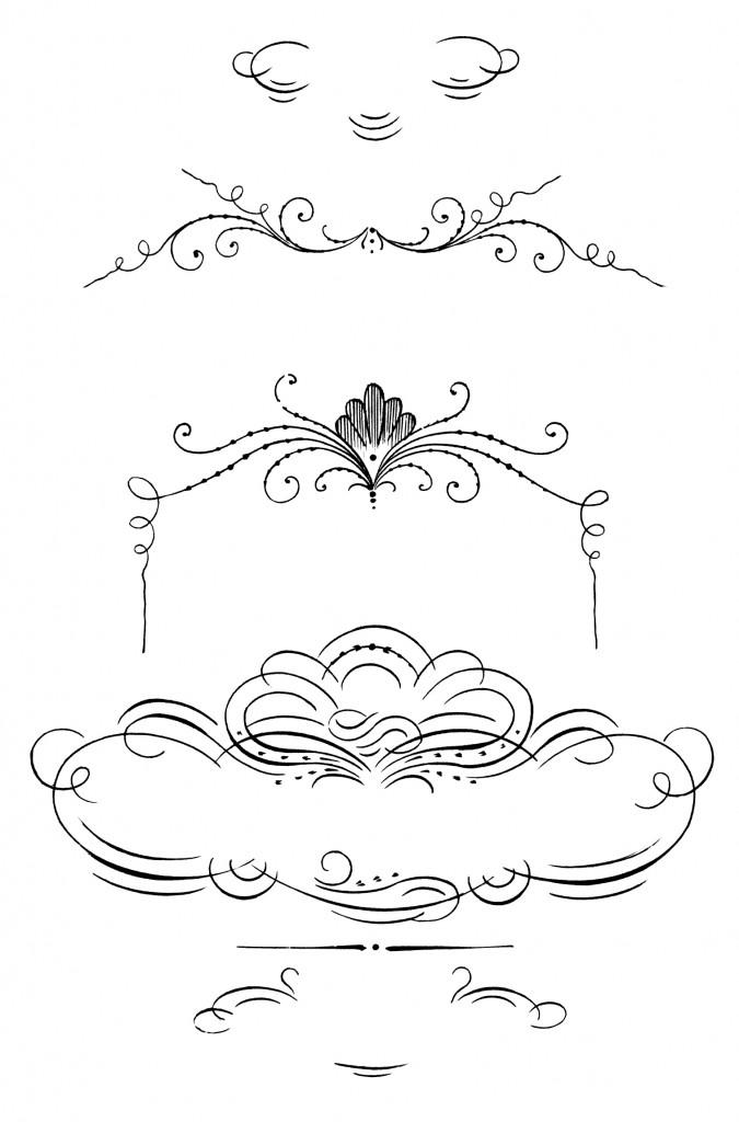 calligraphy, clip art, ornaments, decorative, border, borders.