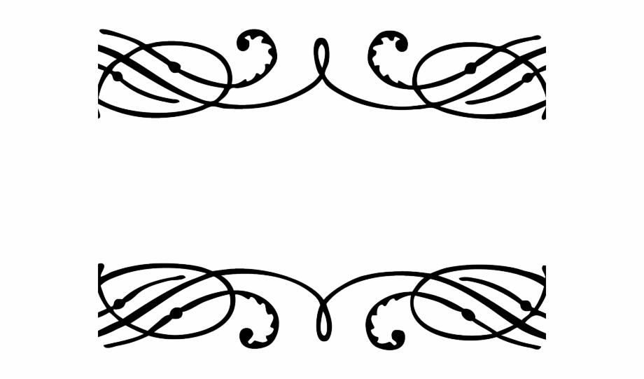 Vector Frame Png Transparent Images Calligraphy Border.