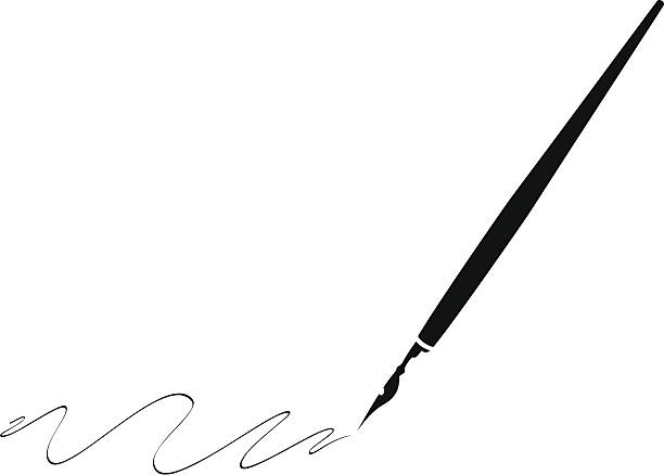 Best Calligraphy Pen Illustrations, Royalty.
