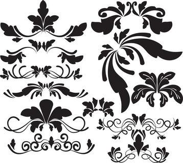Calligraphy Clip Art, Wedding clipart, Wedding digital frames, D.
