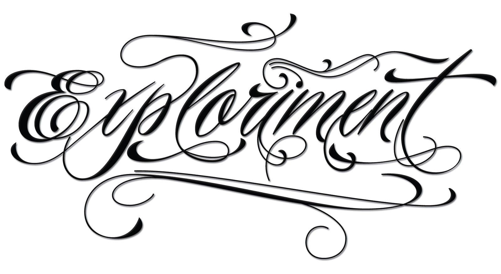 Tattoo Script Font Maker › Piel Script Tattoo Font.