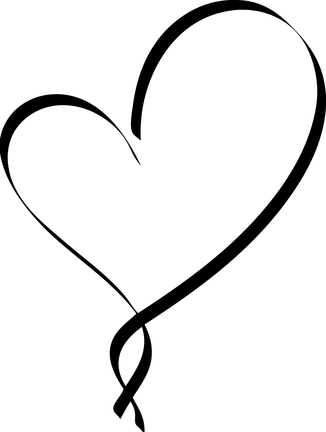 Hearts clipart calligraphy, Picture #1322223 hearts clipart.