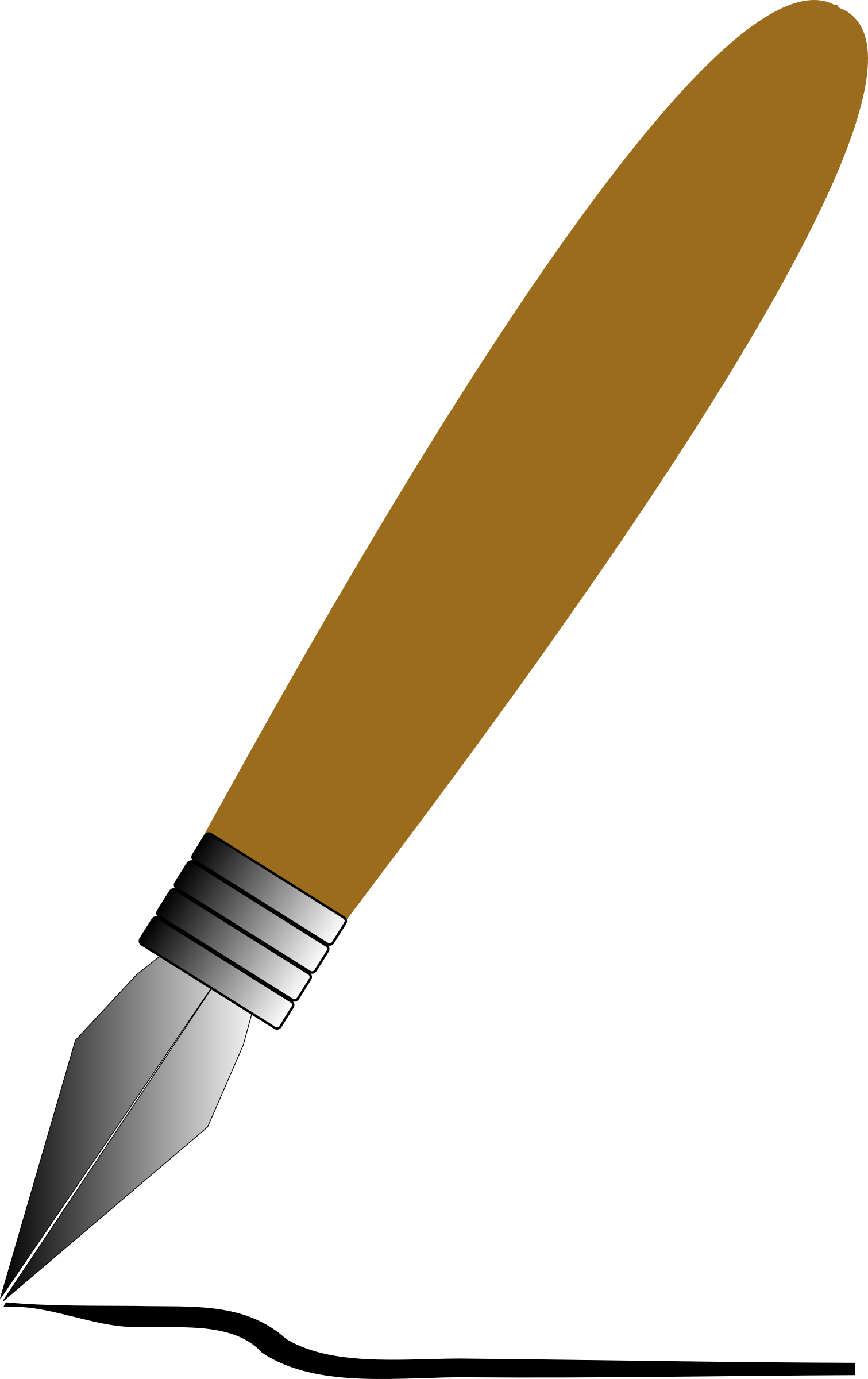 Calligraphy Pen PNG Clipart.