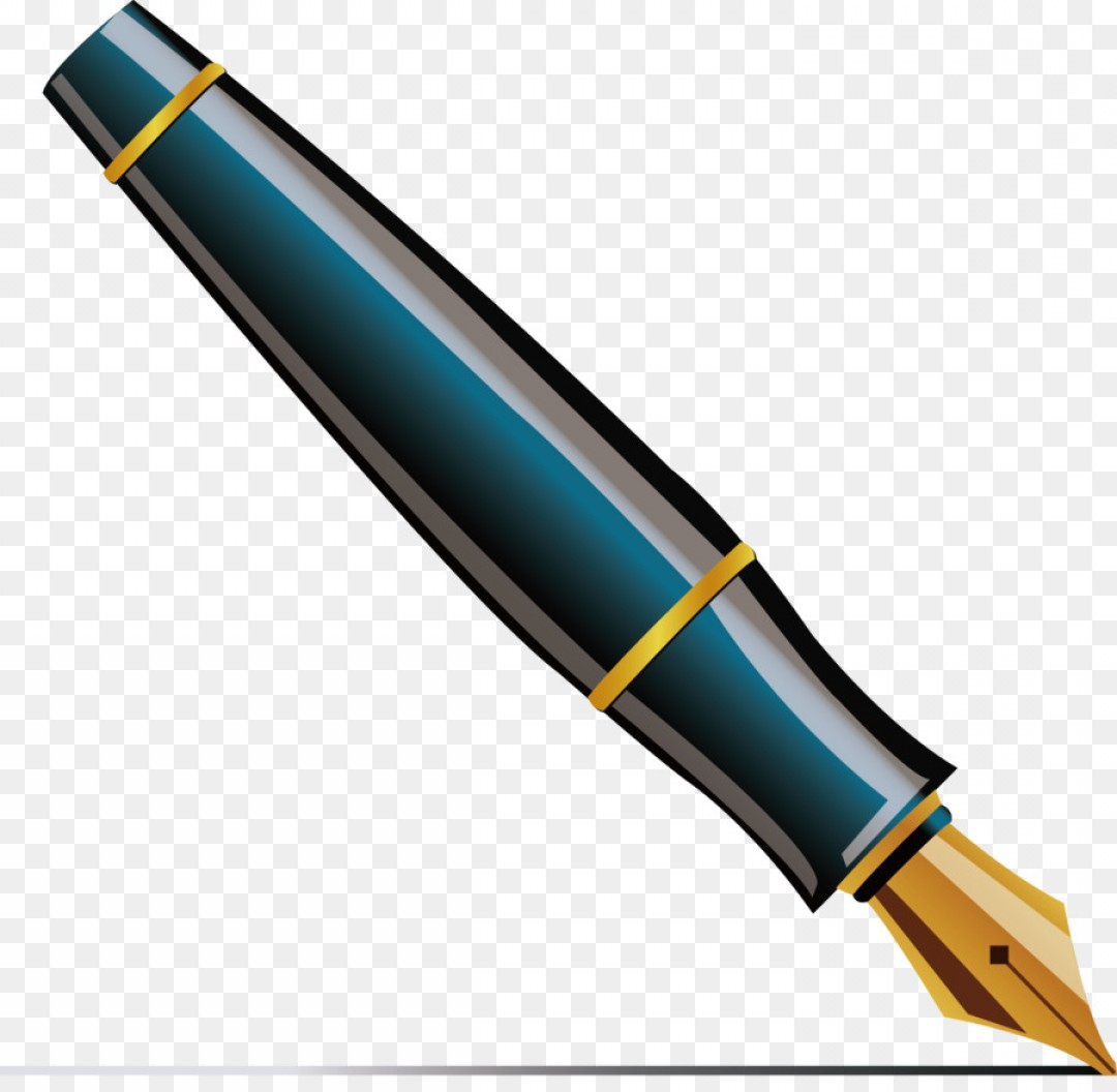 Quill Clipart calligraphy pen 15.