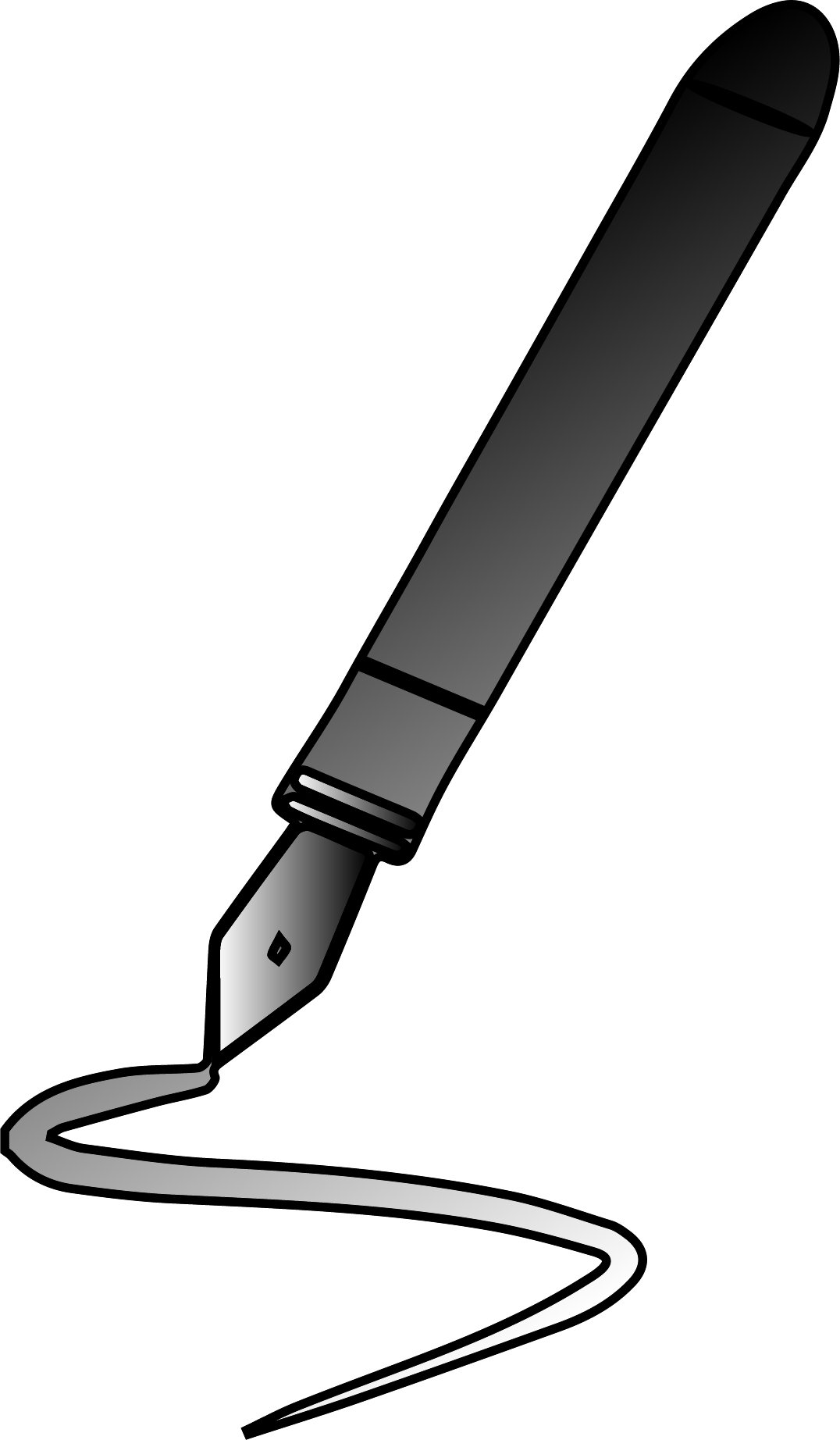 Just Calligraphy Pen Clipart Png.