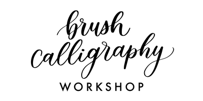 Brush Calligraphy Workshop.