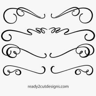 PNG Calligraphy Swirls Cliparts & Cartoons Free Download.