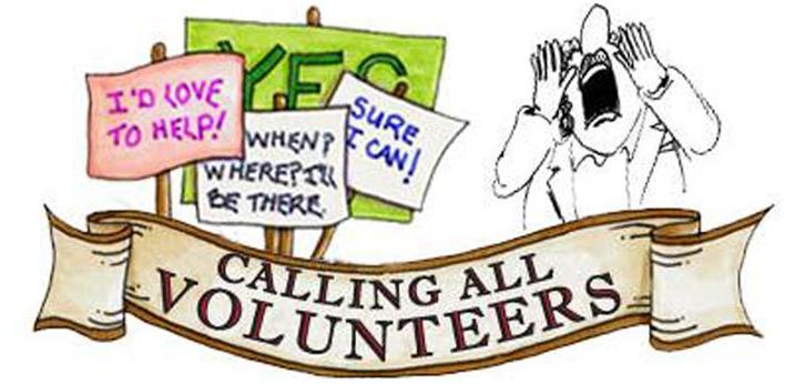 Volunteering clipart calling all, Volunteering calling all.