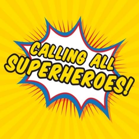 Superhero Party 31st October.
