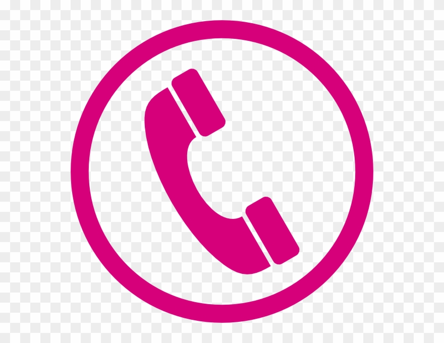 Telephone Clipart Clip Art Pink.