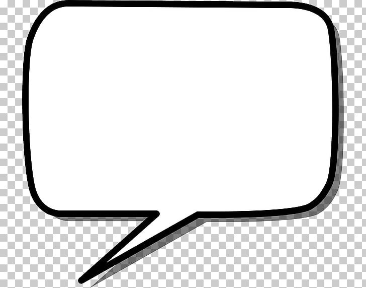 Callout Speech balloon Rectangle , speech, thoughts icon PNG.