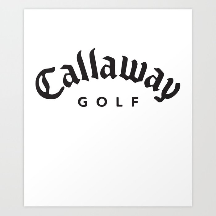 Callaway Golf Logo Football T.