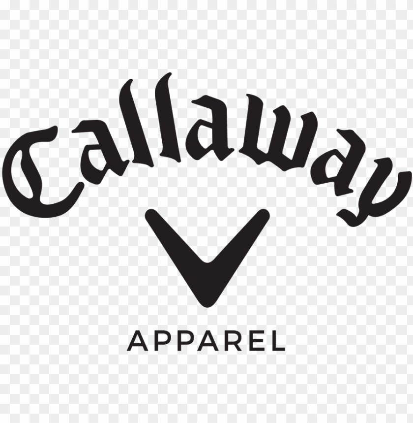callaway golf logo PNG image with transparent background.