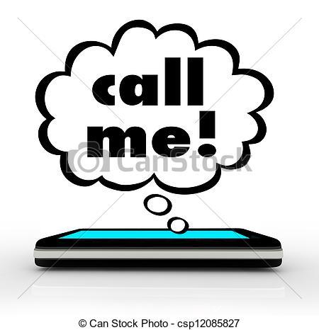 Wireless Phone Calls Clipart.