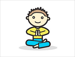Yoga Clipart calm 9.