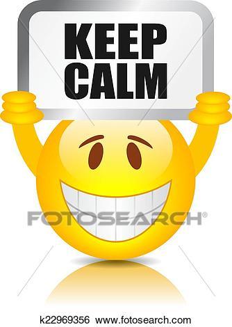 Keep calm Clip Art.