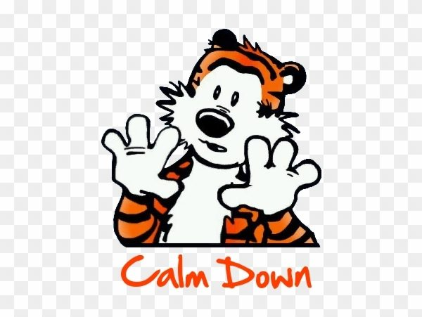 Download Free png Calm Down Clipart.