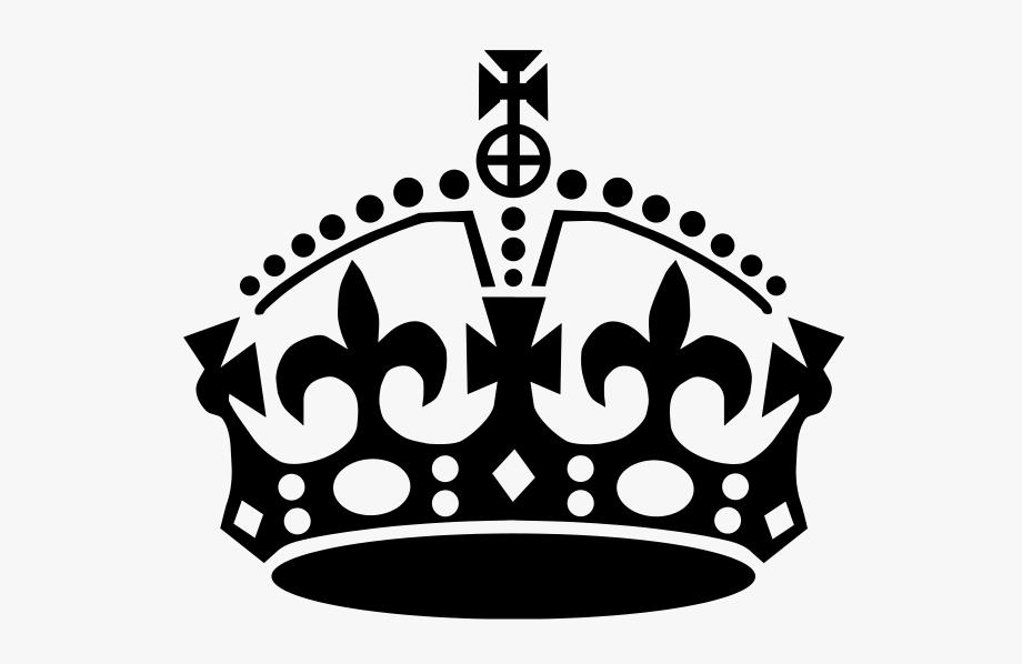 Crown Clip Keep Calm.