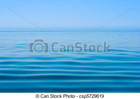Stock Photographs of still calm sea water surface csp5729619.