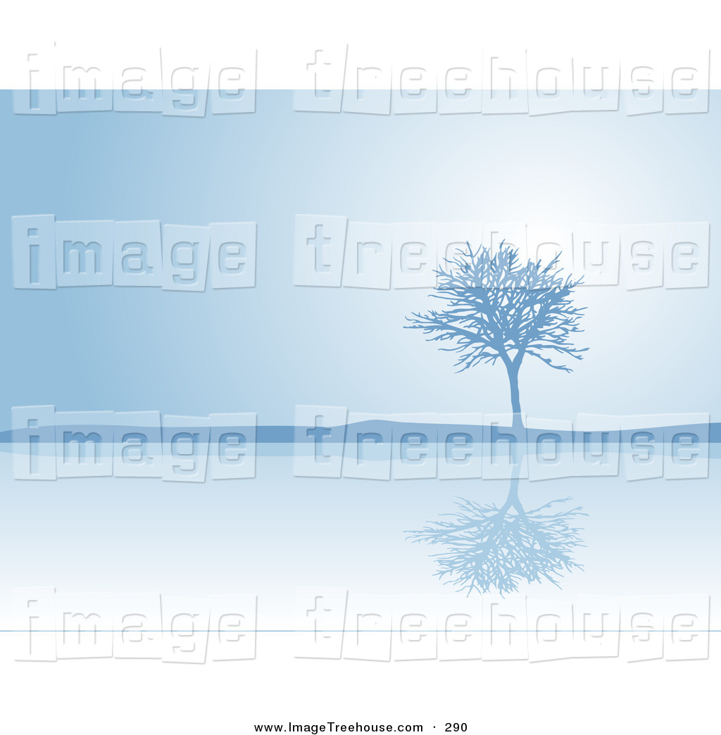 Royalty Free Blue Stock Tree Designs.
