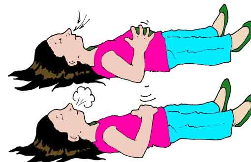Breathing images for calming down clipart.