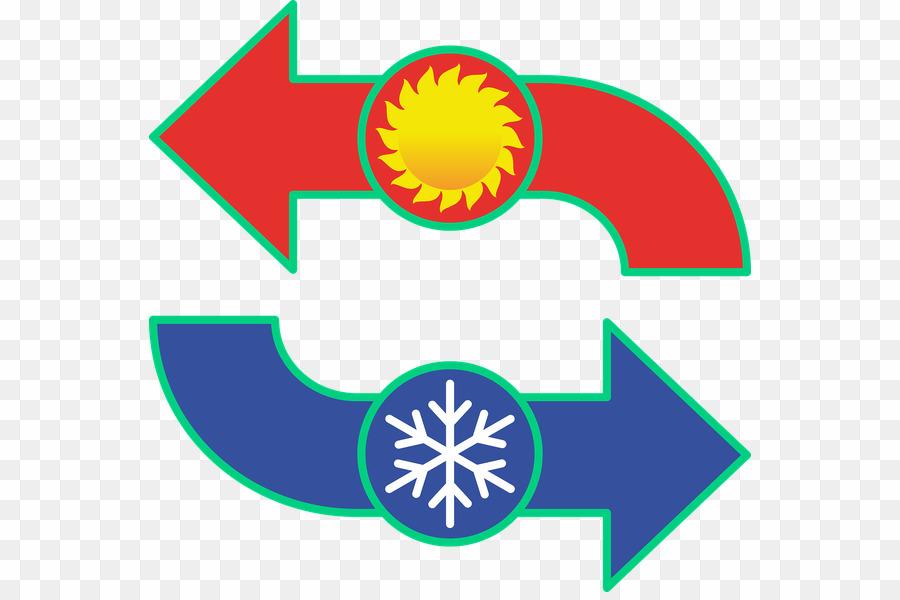 Simbolo De Frio Calor PNG Heating, Ventilation, And Air Conditioning.