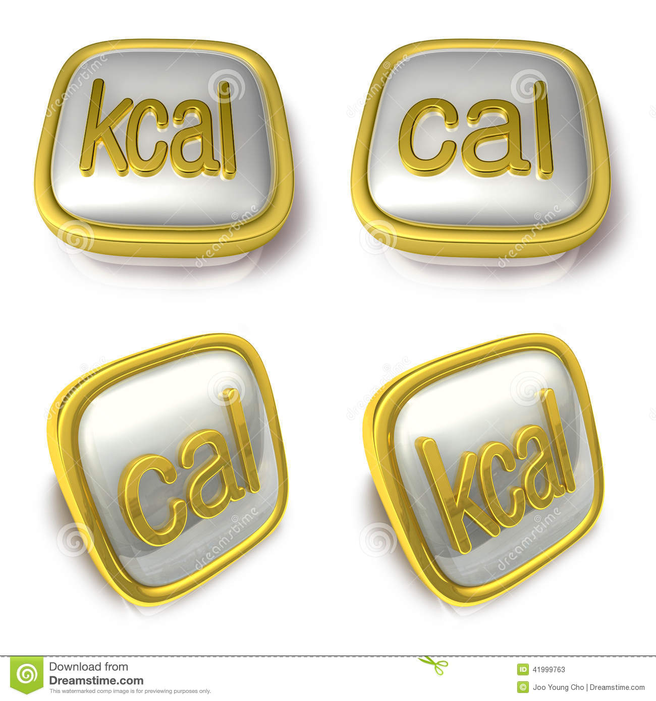 Kcal Stock Illustrations.