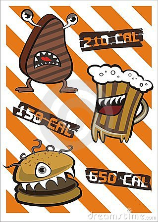 Angry Cupcake Stock Illustrations.