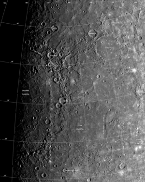 Geology of Mercury.