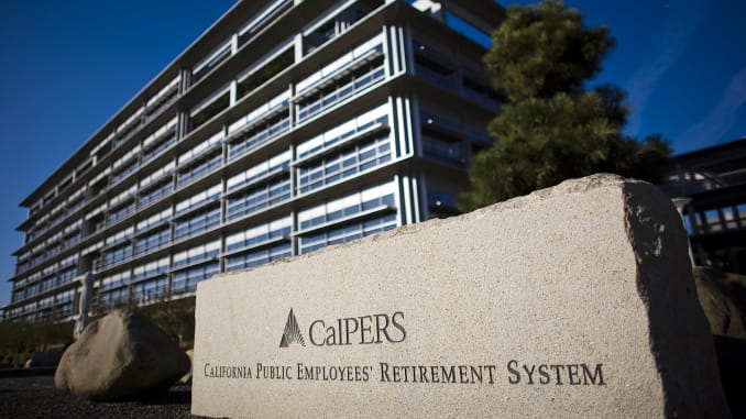 CalPERS\'s sees 5.8 percent return with new allocation; below.