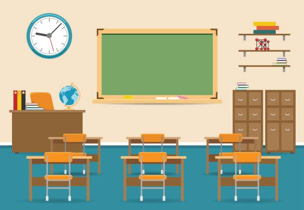 Empty classroom clipart 9 » Clipart Station.