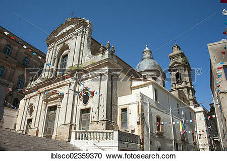 "Stock Photography of ""Church of Santa Maria del Monte, Caltagirone."