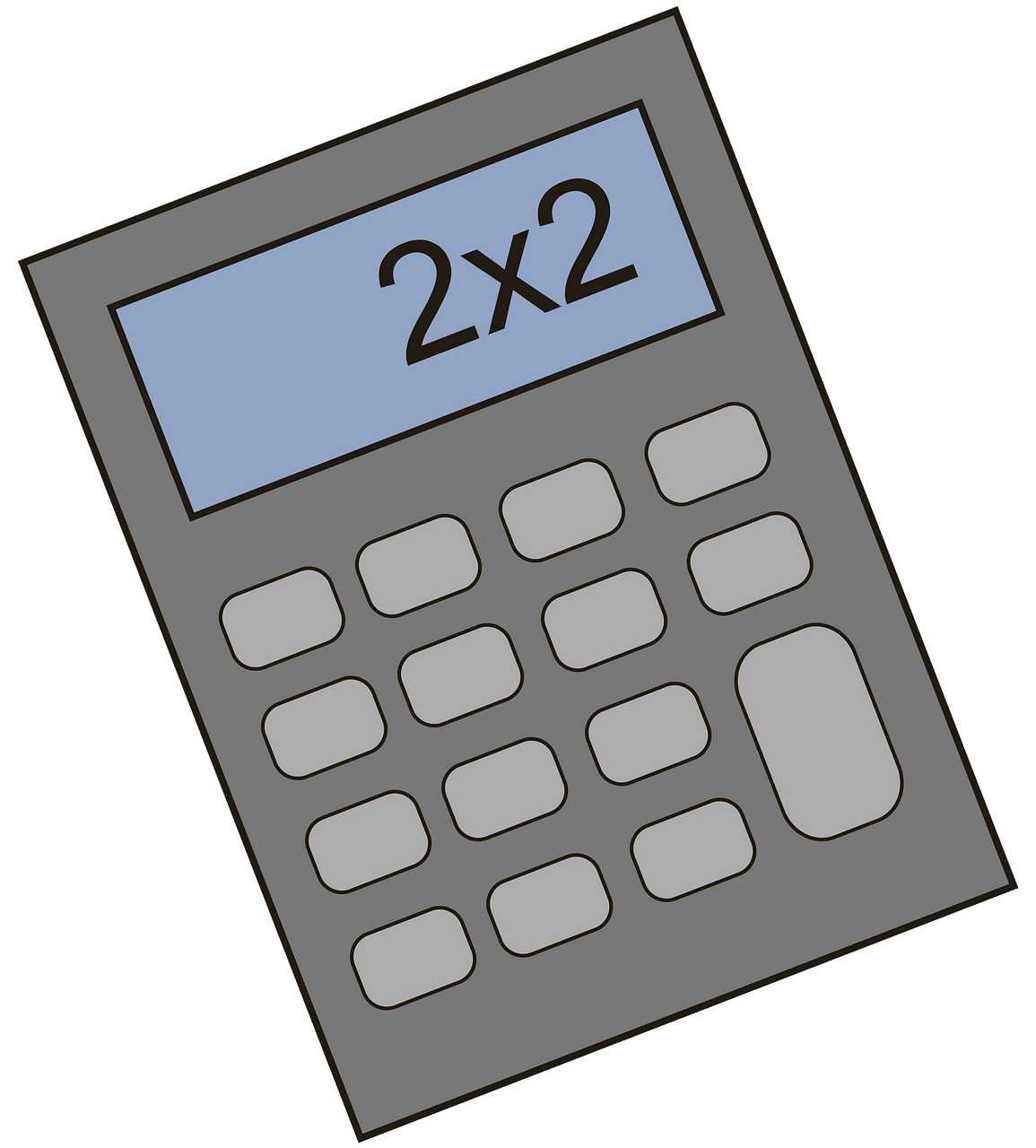 Calculator clipart. Free download..