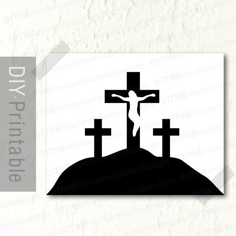 Calvary Crosses.
