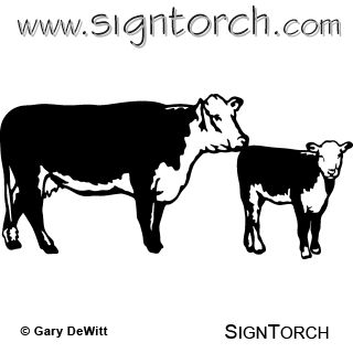 clipart cow.