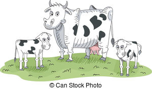 Mother cow Illustrations and Clipart. 161 Mother cow royalty free.