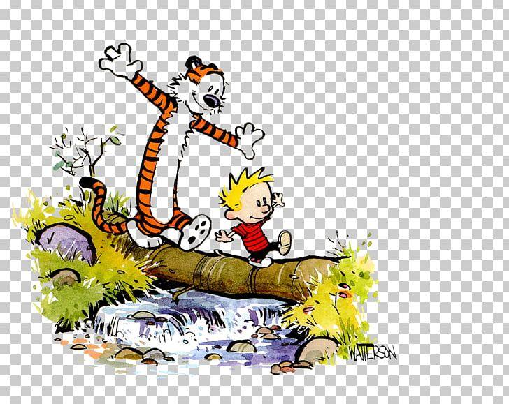 Calvin And Hobbes Comic Strip Comics PNG, Clipart, Art, Bill.