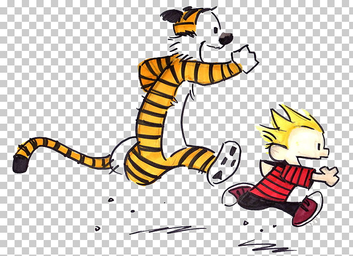 Calvin and Hobbes T.