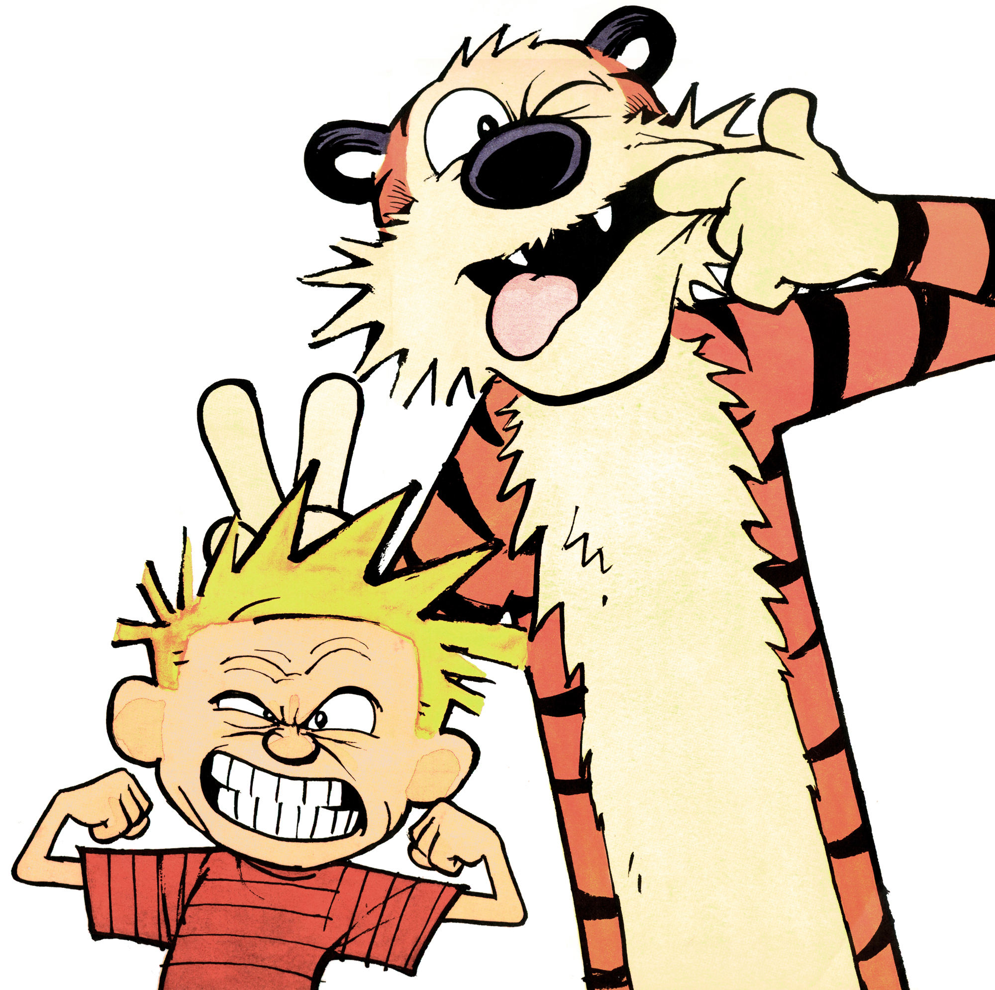Calvin And Hobbes Clipart at GetDrawings.com.