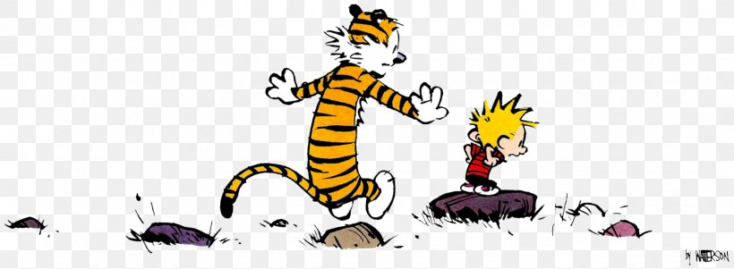 Calvin And Hobbes Comics Comic Strip, PNG, 1632x600px.