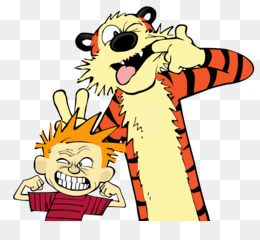 Calvin And Hobbes PNG.