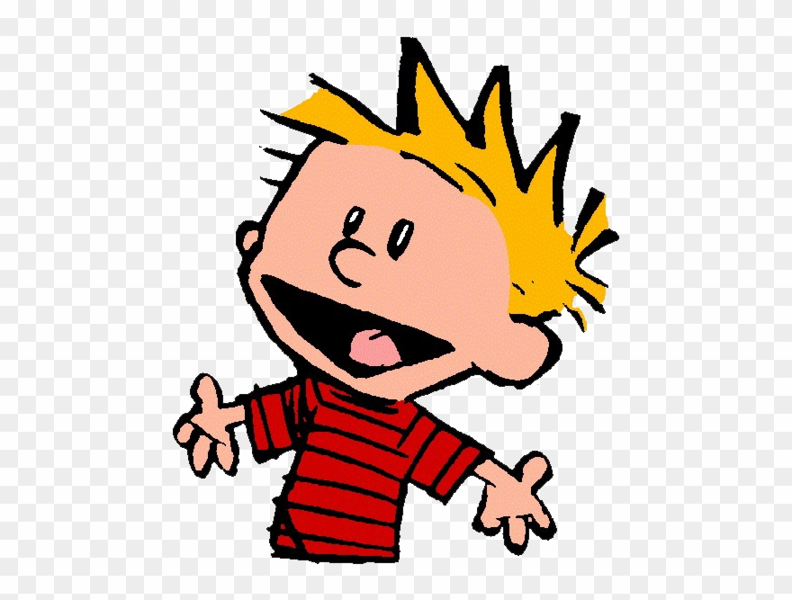 Calvin And Hobbes Transparent Background Png Mart.