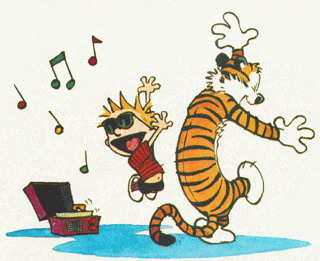 Calvin and Hobbes Clip Art.