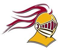 calvin college in grand rapids, knight logo.
